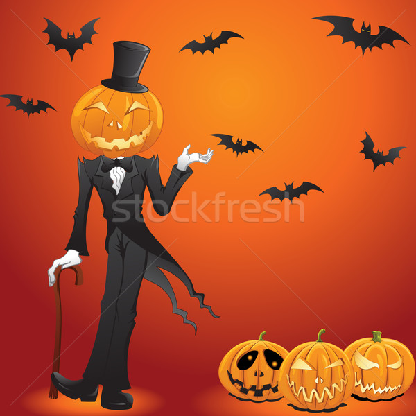 Halloween Jack O Lantern Stock photo © kuzzie