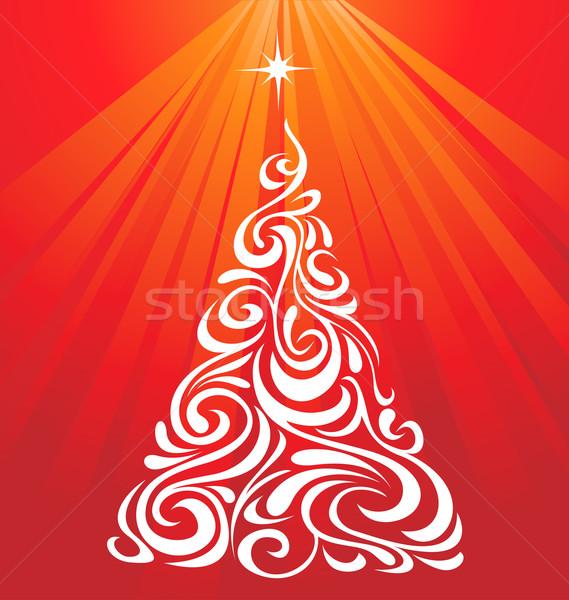 Ornamental Christmas Tree Stock photo © kuzzie
