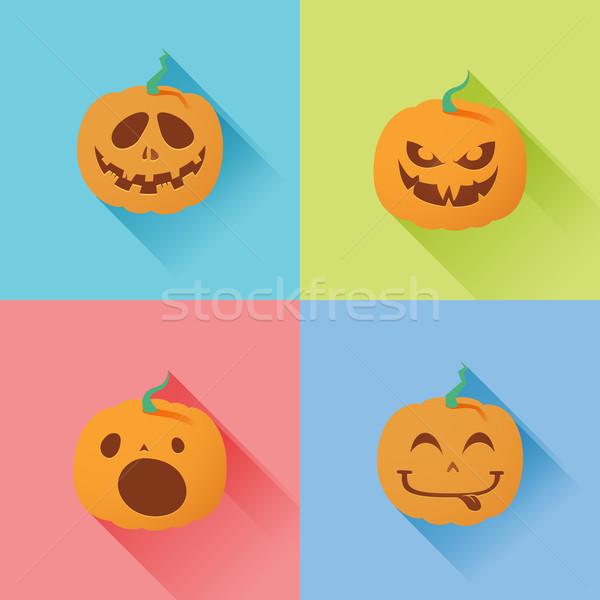 Halloween Pumpkin 3 Stock photo © kuzzie