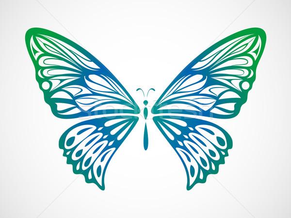 Colorful Butterfly 3 Stock photo © kuzzie