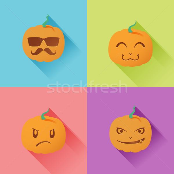 ランタン 実例 パーティ オレンジ 1泊 ストックフォト © kuzzie