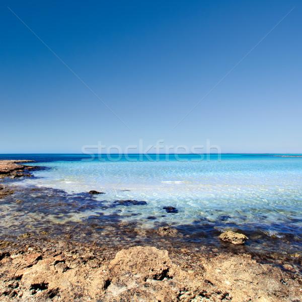 Gyönyörű tengerpart Dél-Ausztrália víz tenger nyár Stock fotó © kwest