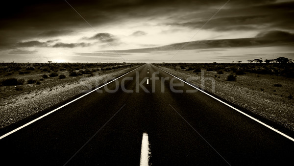 Road to nowhere Stock photo © kwest