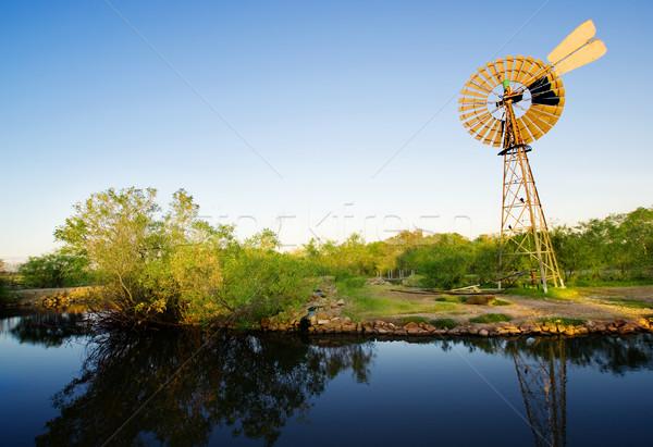 Windmill Springs Stock photo © kwest