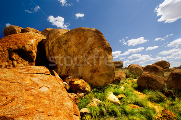 Devils Marbles Stock photo © kwest