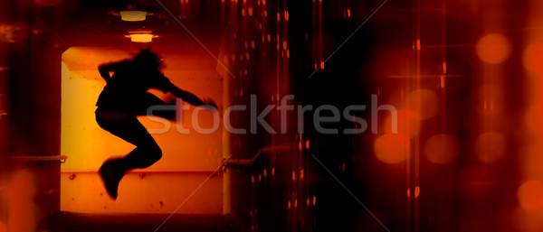 Abstract Panoramic Stock photo © kwest