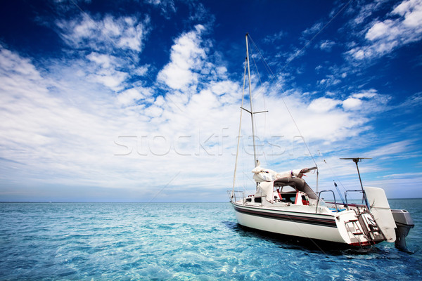 Stock photo: Tropical Sailing