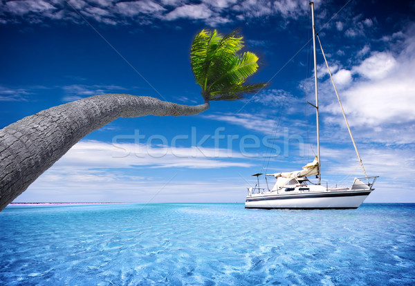 Stock photo: Tropical Lagoon
