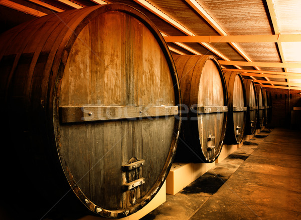 Winery Barrels Stock photo © kwest
