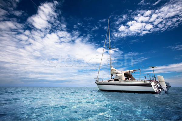 Sailing in Paradise Stock photo © kwest