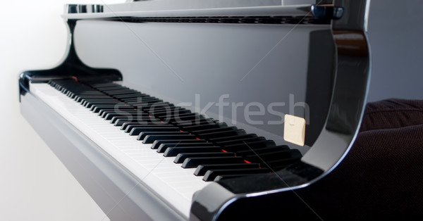 Piano à queue touches belle clavier piano Photo stock © kwest