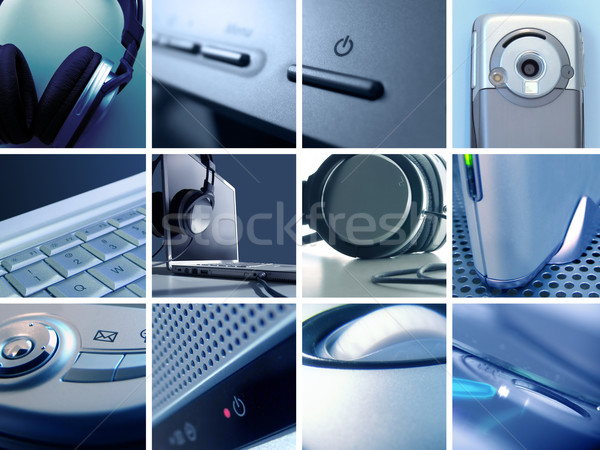 Technology Montage II Stock photo © kwest