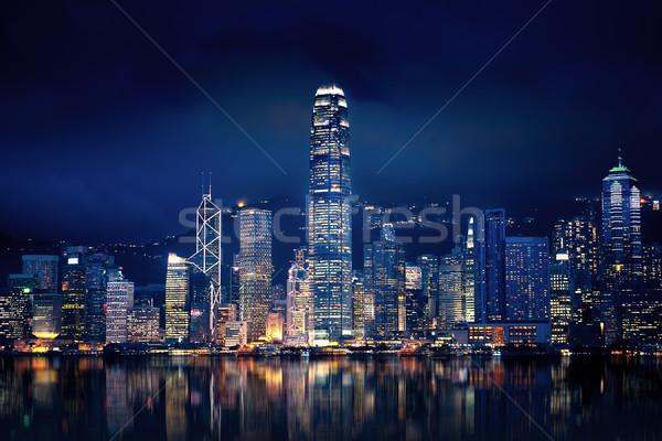 Hong Kong Lights Stock photo © kwest