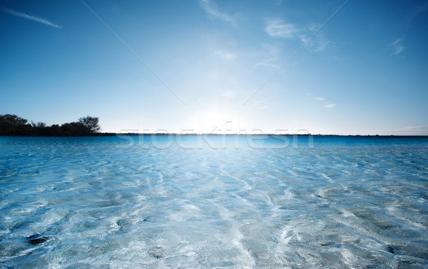 Dreamy Beach Scene Stock photo © kwest