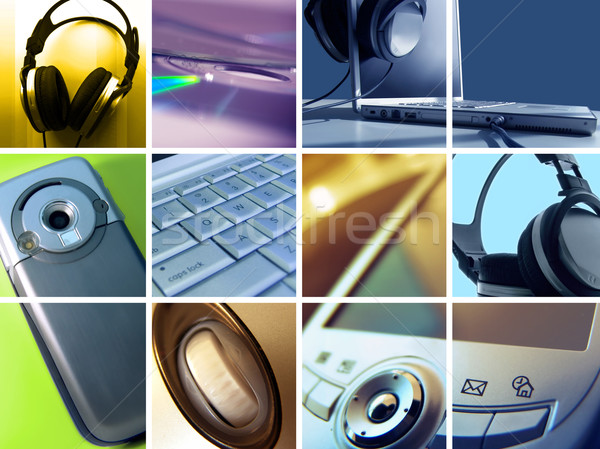 Technology Montage Stock photo © kwest