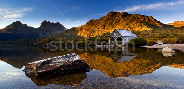 Cradle Mountain Sunrise Stock photo © kwest