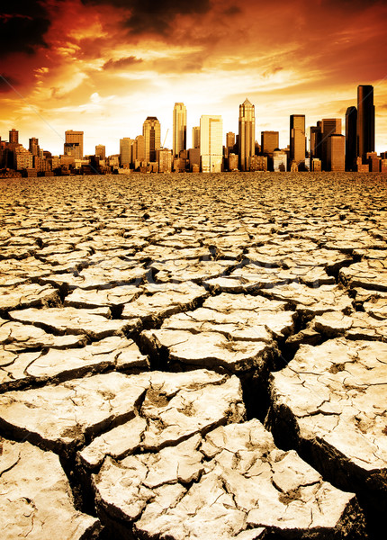 Climate Change Stock photo © kwest