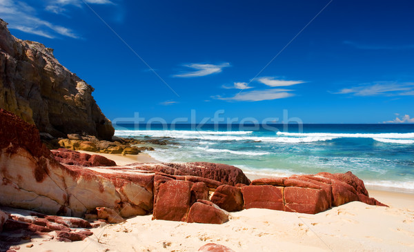 Rocks on Beach Stock photo © kwest