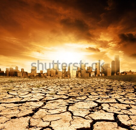 Environmental Disaster Stock photo © kwest