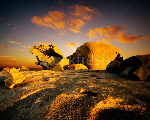 Remakable Rocks Stock photo © kwest