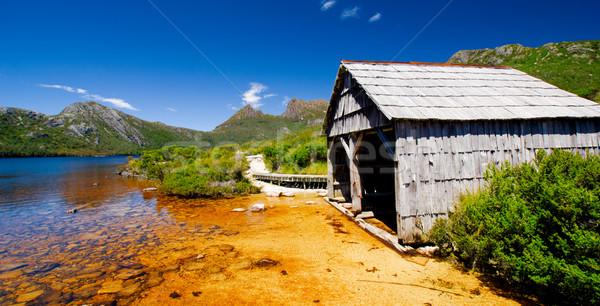 Boat Shed Stock photo © kwest