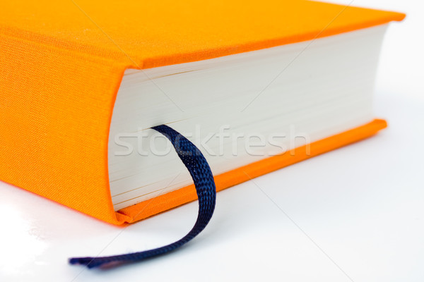 book with bookmark close up Stock photo © kyolshin