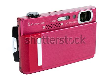 compact digital camera with strap Stock photo © kyolshin
