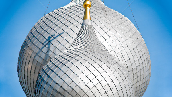 Details of russian church domes. Stock photo © kyolshin