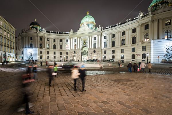 Hofburg Palace in centre of Vienna, Austria. Stock photo © kyolshin