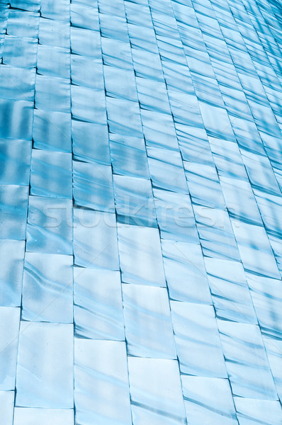 Abstract background of blue shining blocks. Stock photo © kyolshin