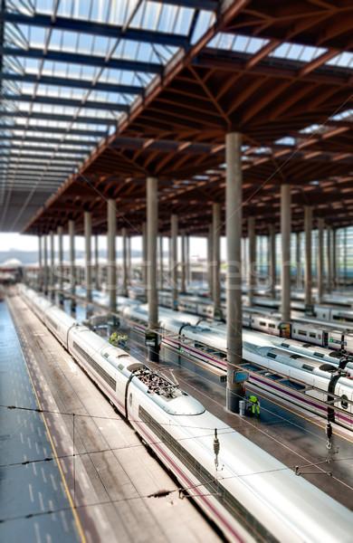 Madrid train station. Stock photo © kyolshin