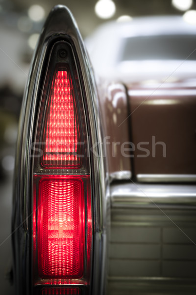 Rear vintage tail light. Stock photo © kyolshin