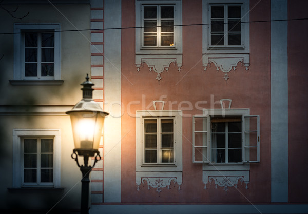 夜景 ウイーン オーストリア ヨーロッパ 通り ストックフォト © kyolshin