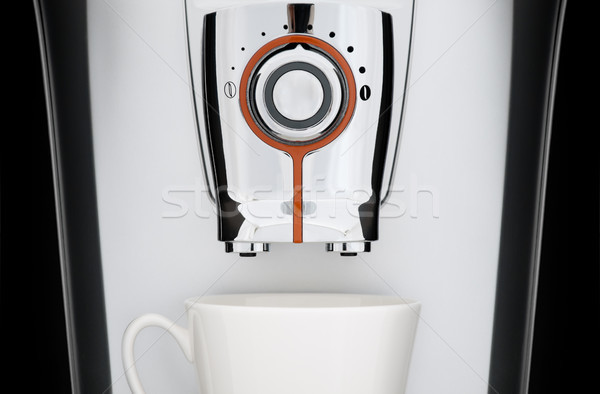 automatic coffee machine Stock photo © kyolshin