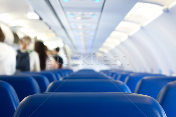 leaving plane Stock photo © kyolshin