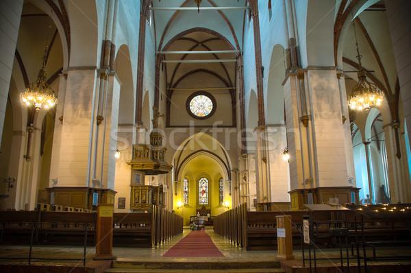 リガ 大聖堂 美しい インテリア ラトビア ヨーロッパ ストックフォト © kyolshin
