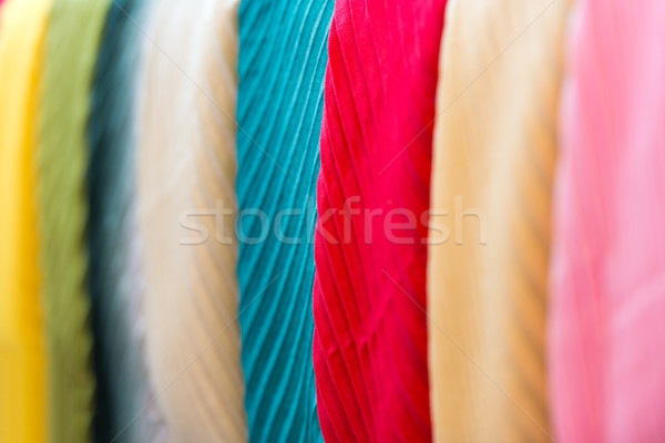 Csetepaté új tarka bolt közelkép kilátás Stock fotó © kyolshin
