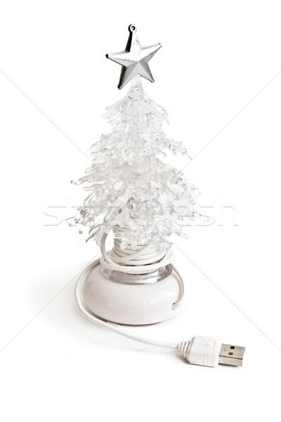 usb christmas tree Stock photo © kyolshin