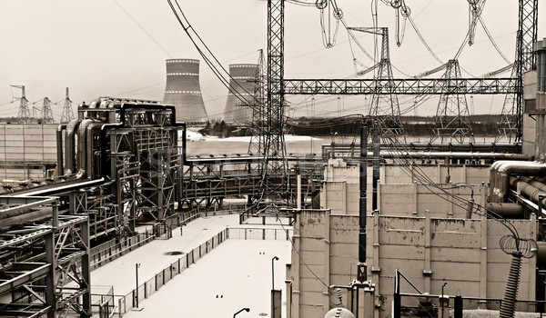 nuclear power plant Stock photo © kyolshin