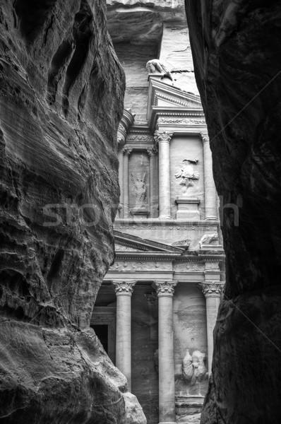 Treasury (al-khazneh), Petra, Jordan Stock photo © kyolshin
