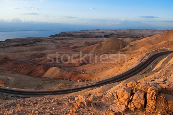 desert road Stock photo © kyolshin