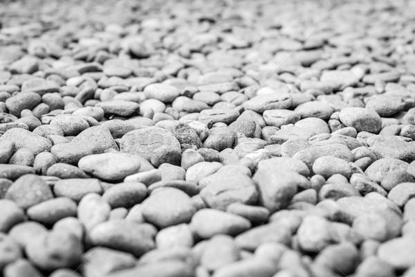 Kavics halom absztrakt természetes szürke barna Stock fotó © kyolshin