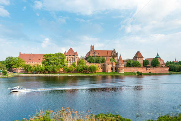 Сток-фото: замок · Польша · Европа · ЮНЕСКО · Мир · наследие