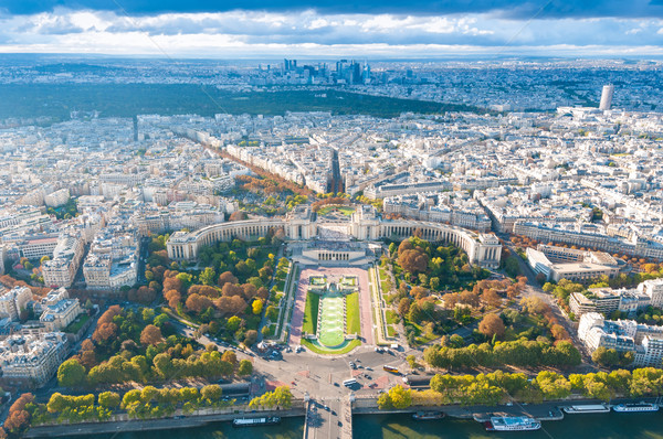 Foto stock: Ver · Paris · Torre · Eiffel · rio · la