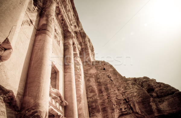 one of the petra tombs Stock photo © kyolshin