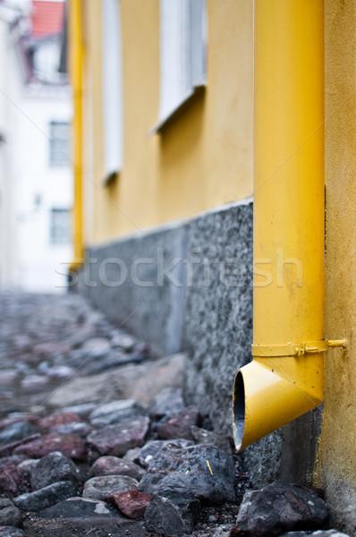 old downtake tube Stock photo © kyolshin