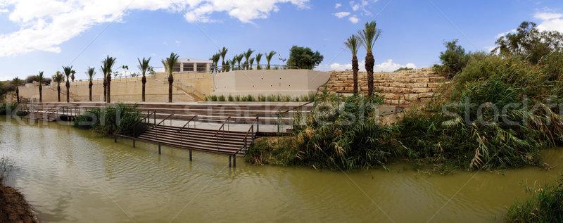 jordan river panorama Stock photo © kyolshin