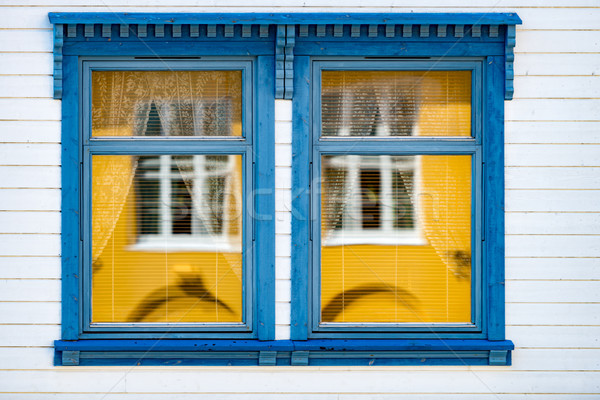 Traditional house in Norway, Europe Stock photo © kyolshin