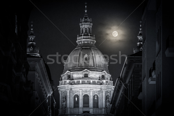 Stephen basilica in Budapest, Hungary, Europe. Stock photo © kyolshin