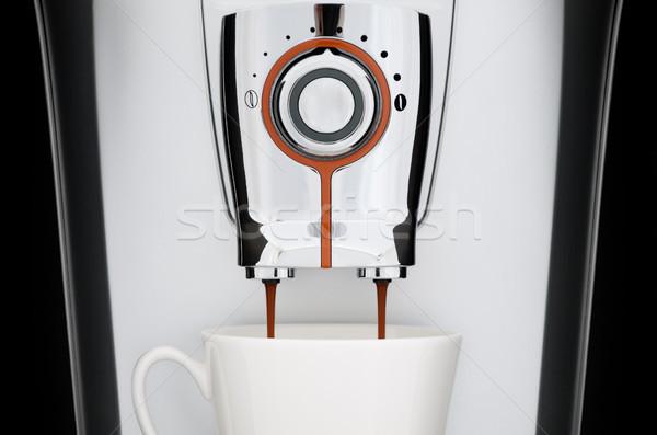 automatic coffee machine Stock photo © kyolshin